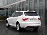 BMW X3 xDrive18d (E83) 2009–10 images