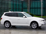 BMW X3 xDrive18d (E83) 2009–10 pictures