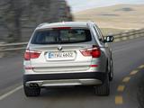 BMW X3 xDrive35i (F25) 2010 images
