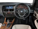 BMW X3 xDrive35i ZA-spec (F25) 2010 images