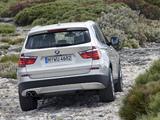 BMW X3 xDrive35i (F25) 2010 photos