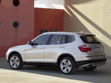 BMW X3 xDrive35i (F25) 2010 pictures