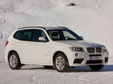 BMW X3 xDrive30d M Sport Package (F25) 2012 photos