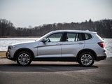 BMW X3 xDrive20d (F25) 2014 pictures