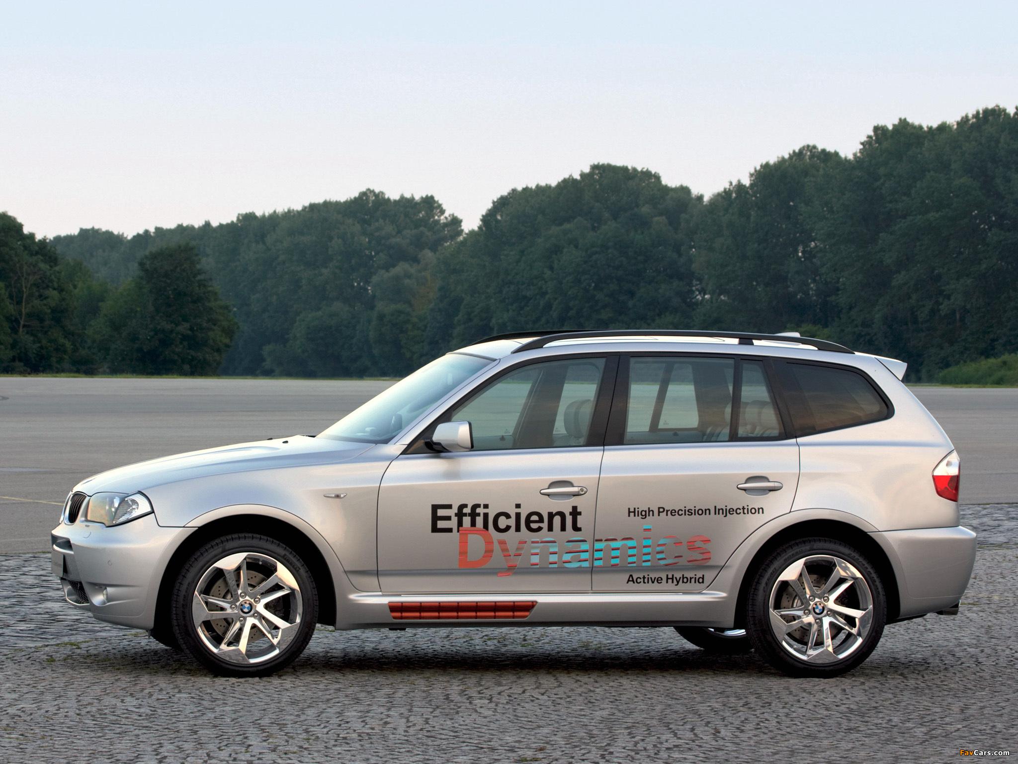 Images of BMW X3 Efficient Dynamics Concept (E83) 2005 (2048x1536)