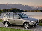 Images of BMW X3 3.0si (E83) 2007–10