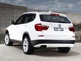 Images of BMW X3 xDrive20d AU-spec (F25) 2010
