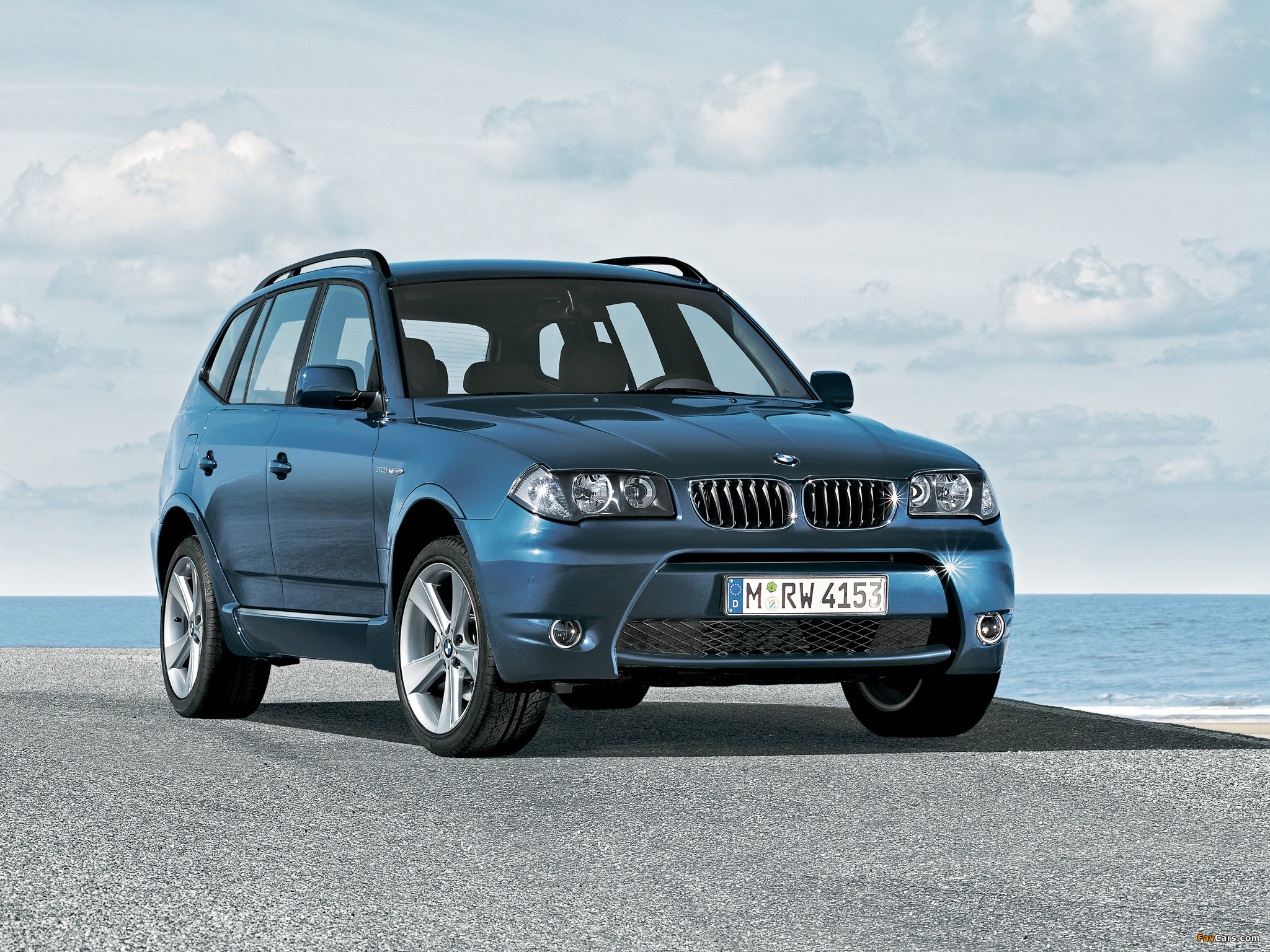 of BMW X3 Aerodynamic Package (E83) 2004–06