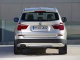 Photos of BMW X3 xDrive35i (F25) 2010
