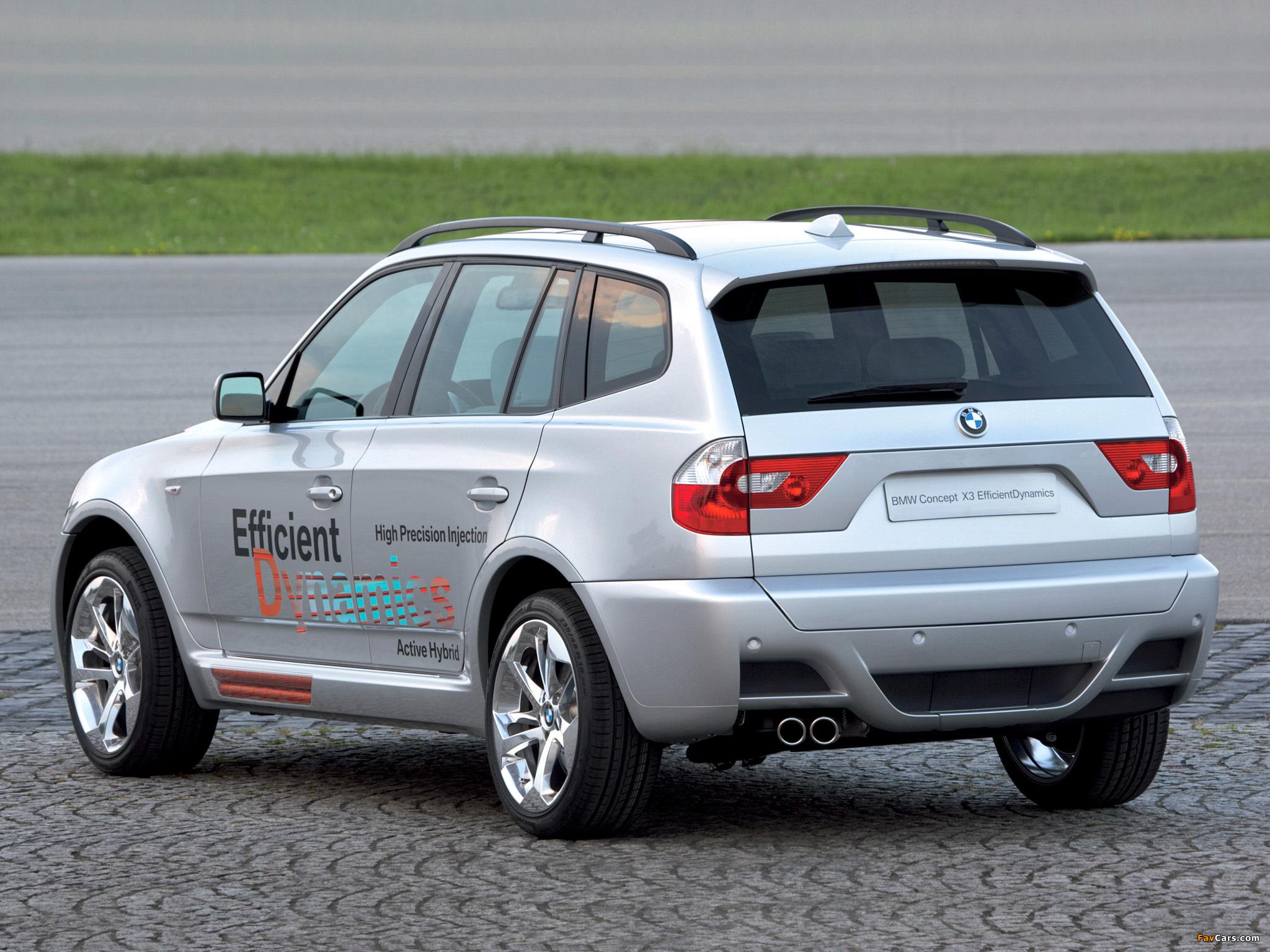 Pictures of BMW X3 Efficient Dynamics Concept (E83) 2005 (2048x1536)