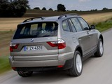 Pictures of BMW X3 3.0si (E83) 2007–10