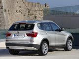 Pictures of BMW X3 xDrive35i (F25) 2010