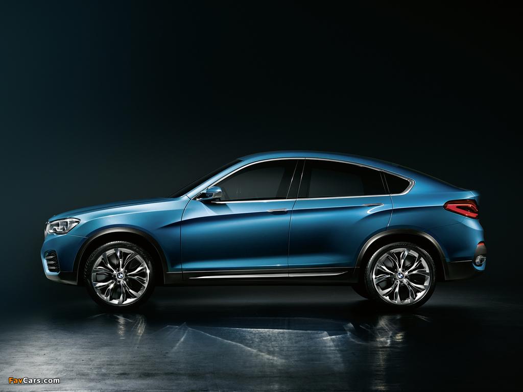 BMW Concept X4 (F26) 2013 photos (1024 x 768)