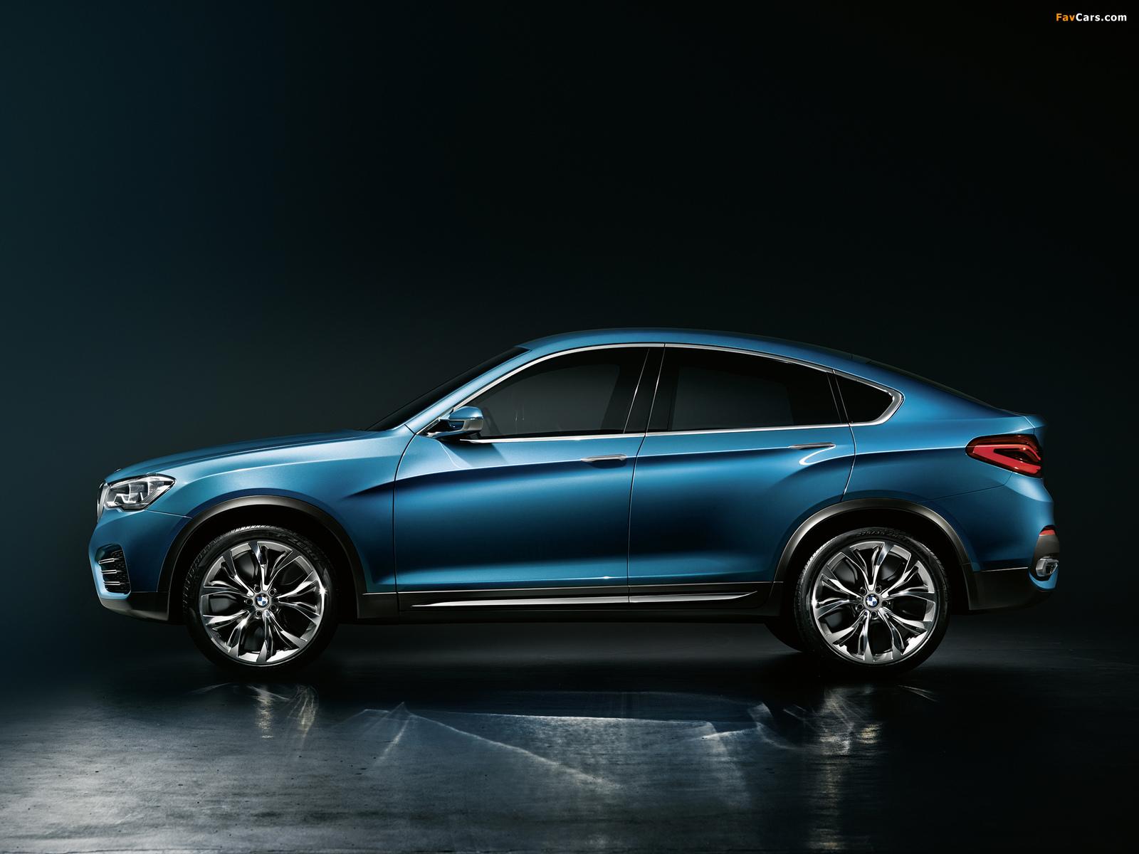 BMW Concept X4 (F26) 2013 photos (1600 x 1200)