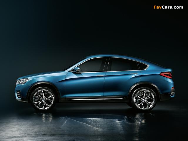 BMW Concept X4 (F26) 2013 photos (640 x 480)