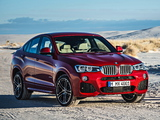 BMW X4 xDrive35i M Sports Package (F26) 2014 images
