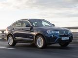 BMW X4 xDrive30d (F26) 2014 images