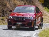 BMW X4 xDrive35i M Sports Package AU-spec (F26) 2014 photos