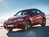 BMW X4 xDrive35i M Sports Package (F26) 2014 pictures