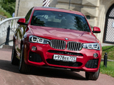 BMW X4 xDrive30d M Sports Package (F26) 2014 pictures