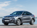 BMW X4 xDrive30d M Sports Package UK-spec (F26) 2014 pictures