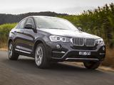 BMW X4 xDrive30d AU-spec (F26) 2014 wallpapers