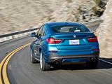 BMW X4 M40i (F26) 2015 images