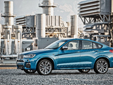 BMW X4 M40i (F26) 2015 pictures