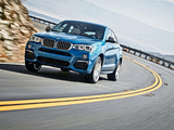 BMW X4 M40i (F26) 2015 wallpapers
