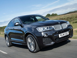 Images of BMW X4 xDrive30d M Sports Package UK-spec (F26) 2014