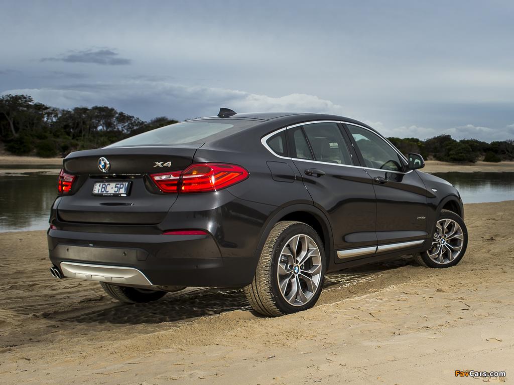 Images of BMW X4 xDrive30d AU-spec (F26) 2014 (1024 x 768)
