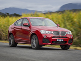 Images of BMW X4 xDrive35i M Sports Package AU-spec (F26) 2014