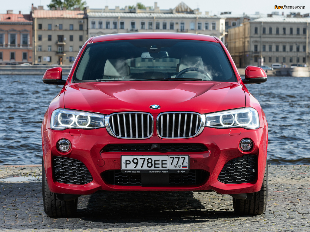 Images of BMW X4 xDrive30d M Sports Package (F26) 2014 (1024 x 768)