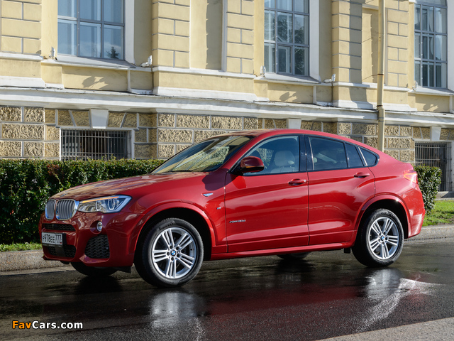 Images of BMW X4 xDrive30d M Sports Package (F26) 2014 (640 x 480)