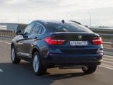 Photos of BMW X4 xDrive30d (F26) 2014