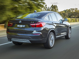 Pictures of BMW X4 xDrive30d AU-spec (F26) 2014