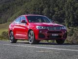 BMW X4 xDrive35i M Sports Package AU-spec (F26) 2014 wallpapers