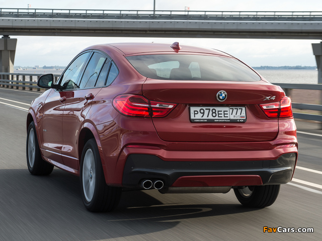 BMW X4 xDrive30d M Sports Package (F26) 2014 wallpapers (640 x 480)
