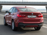 BMW X4 xDrive30d M Sports Package (F26) 2014 wallpapers