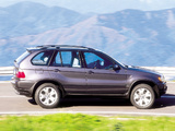 BMW X5 3.0d (E53) 2001–03 pictures
