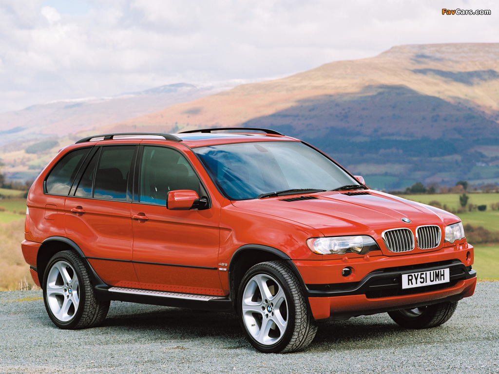 Bmw X5 4 6is Uk Spec E53 2002 03 Pictures 1024x768