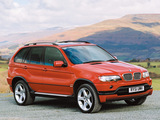 BMW X5 4.6is UK-spec (E53) 2002–03 pictures