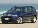 BMW X5 4.8is AU-spec (E53) 2004–07 wallpapers
