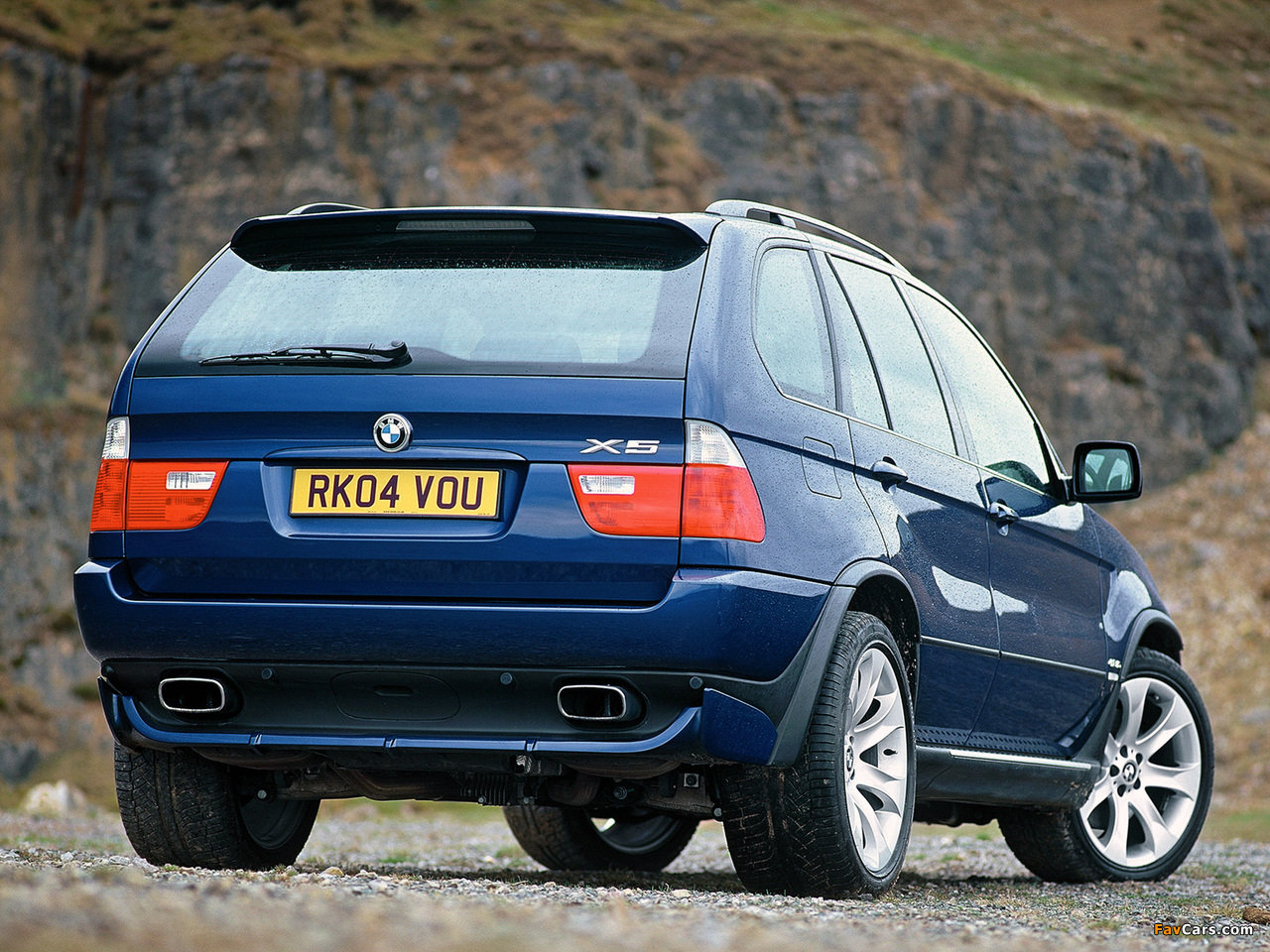 BMW X5 4.8is UK-spec (E53) 2004-07 wallpapers (1280x960)