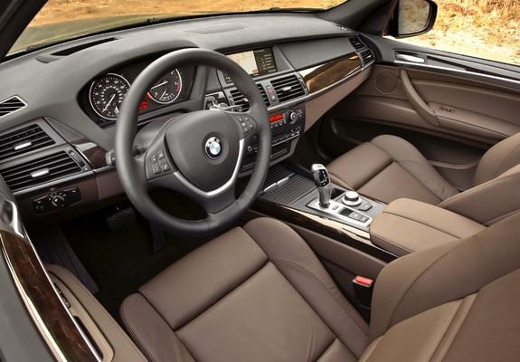 BMW X5 xDrive35d BluePerformance US-spec (E70) 2009–10 images