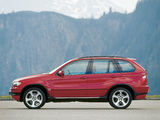 Photos of BMW X5 4.6is (E53) 2002–03