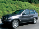 BMW X5 3.0d (E53) 2001–03 wallpapers