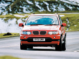 BMW X5 4.6is UK-spec (E53) 2002–03 wallpapers