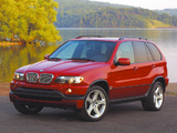 BMW X5 4.6is US-spec (E53) 2002–03 wallpapers