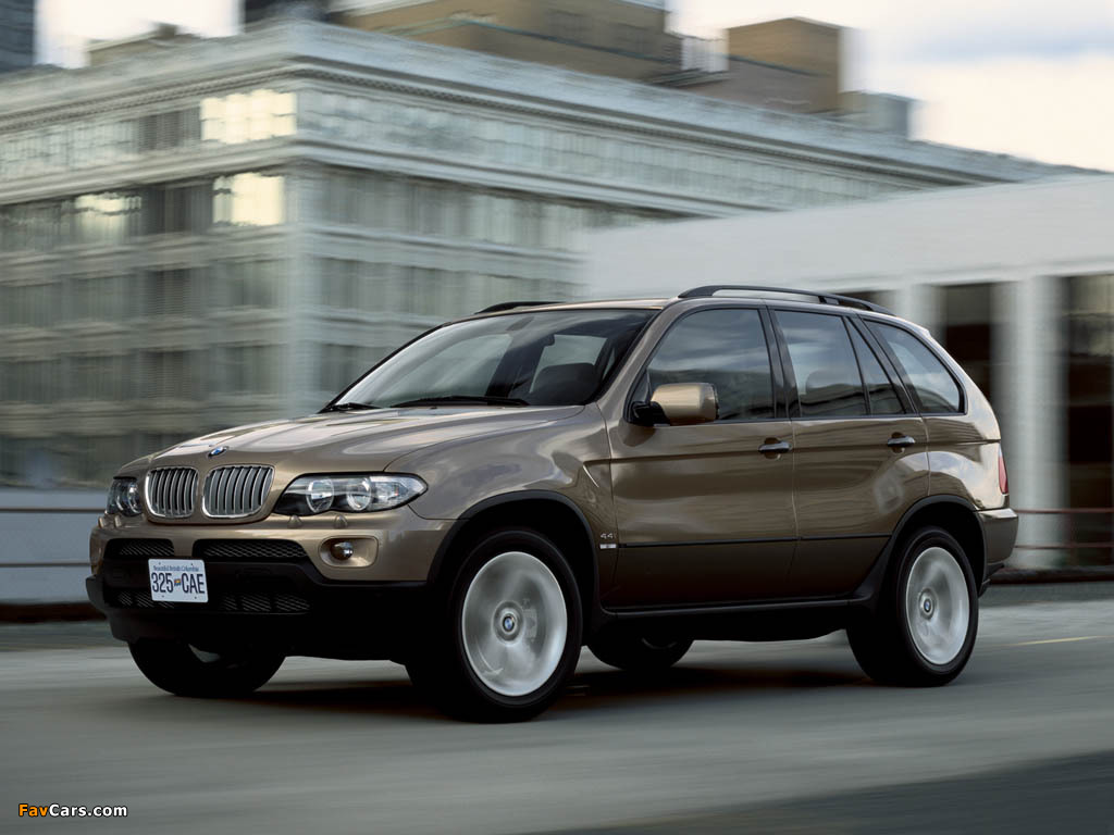 Bmw X5 4 4i E53 2003 07 Wallpapers 1024x768